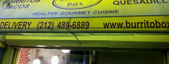 Burrito Box is one of Food NYC.