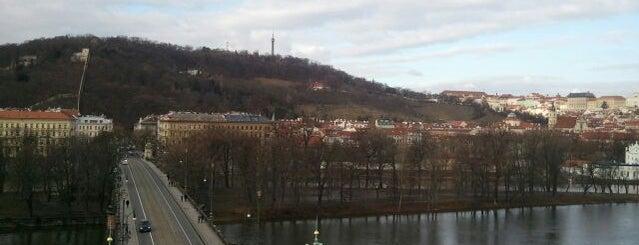 Brücke der Legionen is one of StorefrontSticker #4sqCities: Prague.