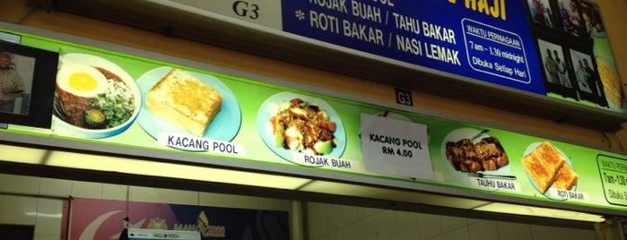 Gerai Makanan Kacang Pool Haji is one of Lugares favoritos de Madir.