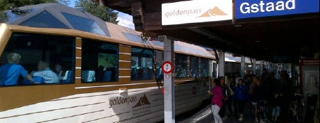 Bahnhof Gstaad is one of Switzerland 2014.
