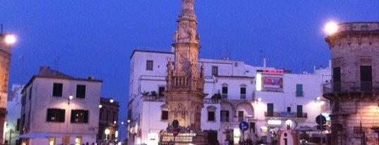 Piazza Sant'Oronzo is one of Alexander : понравившиеся места.