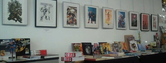 The Comic Book Lounge + Gallery is one of The Toronto Geek Trail.