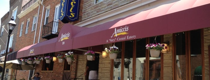 Amicci's is one of Baltimore.
