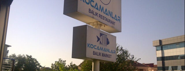 Kocamanlar Balık is one of Lieux sauvegardés par Ali Can.