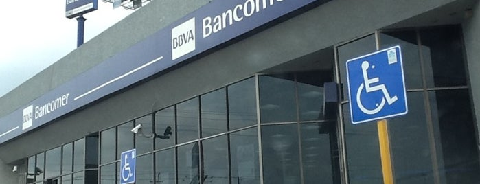 BBVA Bancomer is one of Ismael 님이 좋아한 장소.