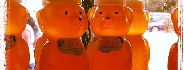 Harold P. Curtis Honey Co. is one of Hidden Treasures of Tampa Bay.