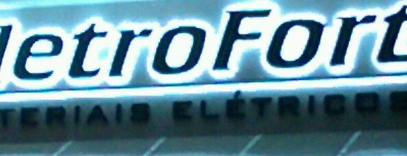 Eletrofort Elétrica Hidráulica e Iluminação is one of Fornecedores.