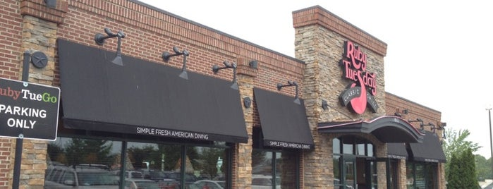 Ruby Tuesday is one of Must-visit American Restaurants in Greensboro.