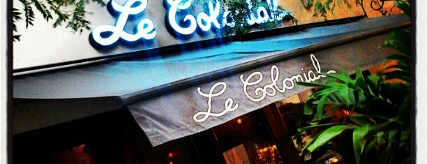 Le Colonial is one of Chicago's Coziest Spots.
