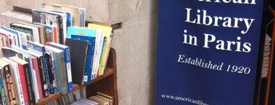 American Library in Paris is one of Lieux sauvegardés par JULIE.