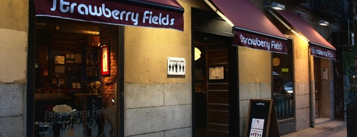 Strawberry Fields is one of Zampar en Madrid.