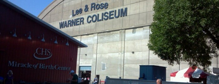 Warner Coliseum (Minnesota State Fairgrounds) is one of Lugares favoritos de Jenny.