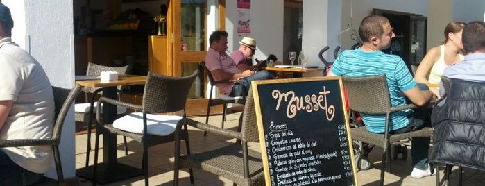 Café Musset is one of Ibiza.