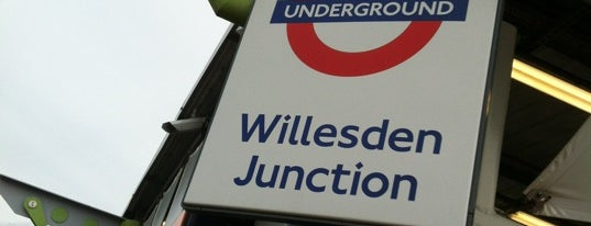 Willesden Junction London Underground and London Overground Station is one of Went Before 4.0.