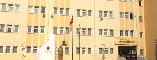 Ayrancı Anadolu Lisesi is one of Lugares favoritos de Ladybug.