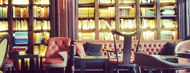 The Library at The NoMad is one of Bons plans NYC.