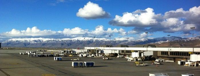 Международный аэропорт Солт-Лейк-Сити (SLC) is one of Flyin' Around the Globe.