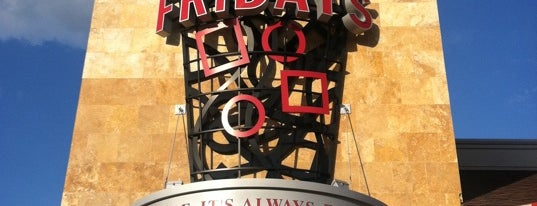TGI Fridays is one of BEST PLACES TO GET PIZZA IN PITTSBURGH!.