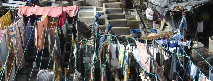 Dhobi Ghat is one of Mumbai, India.