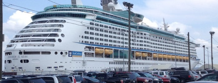 Royal Caribbean - Explorer of the Seas is one of Jerome Bank.