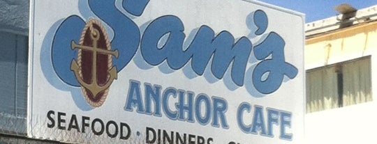 Sam's Anchor Cafe is one of Top 100 Bay Area Bars (According to the SF Chron).
