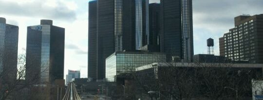 GM Renaissance Center is one of Detroit #4sqCities.