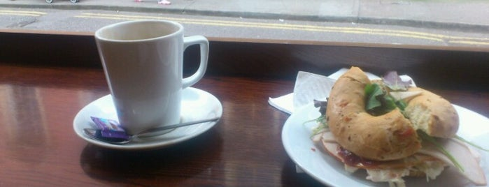 The bagel BAR Coffee House is one of Ireland.