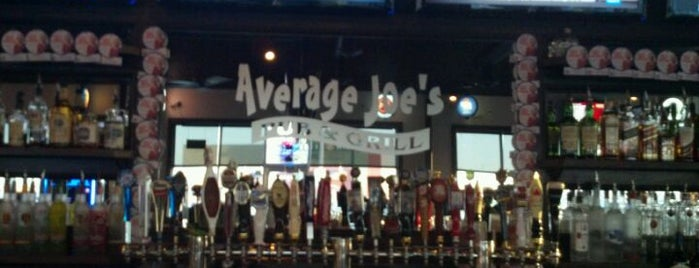 Average Joe's is one of Locais curtidos por David.