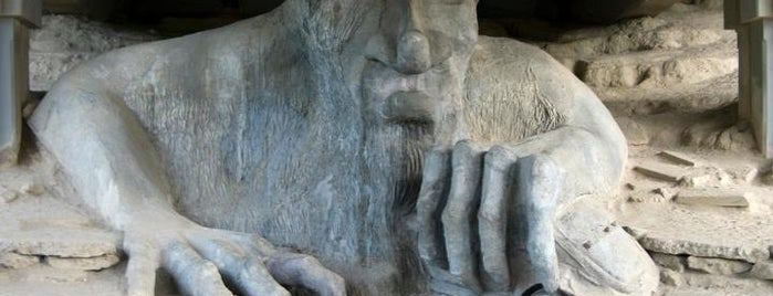 The Fremont Troll is one of Seattle To-Do List.