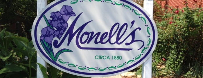 Monell's Dining & Catering is one of So You are in Nashville.