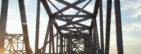 Natchez-Vidalia Bridge is one of Natchez.