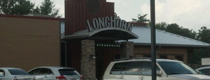 LongHorn Steakhouse is one of Lugares favoritos de Sergio M. 🇲🇽🇧🇷🇱🇷.