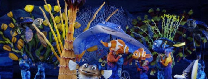 Finding Nemo - The Musical is one of Lugares favoritos de Sarah.