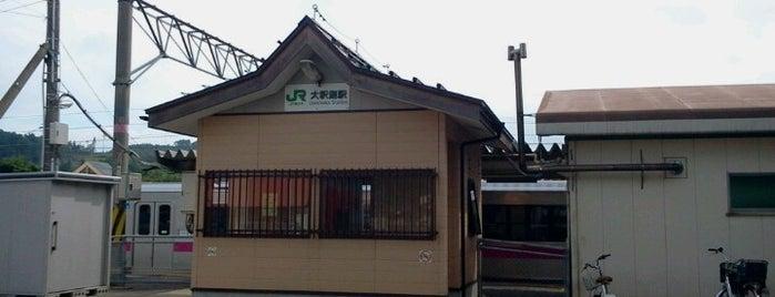 大釈迦駅 is one of JR 키타토호쿠지방역 (JR 北東北地方の駅).