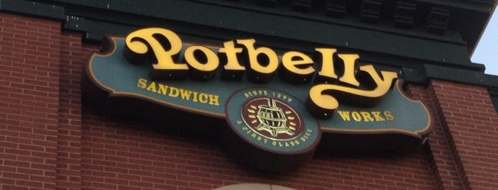 Potbelly Sandwich Shop is one of Orte, die mark (Jason) gefallen.