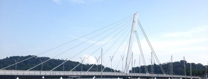 Keppel Bay Bridge is one of Singapore.