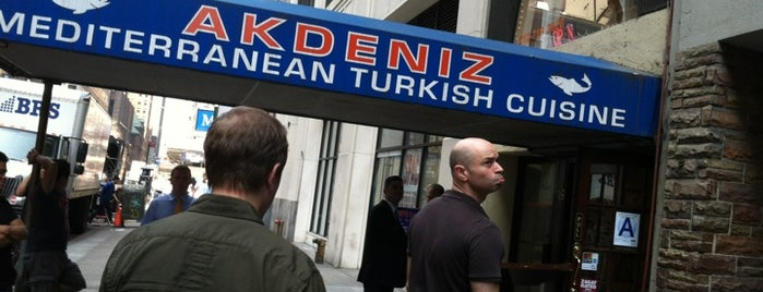 Akdeniz is one of The Outsiders.