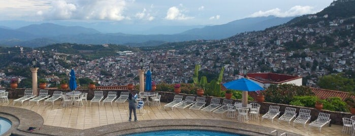 Hotel Montetaxco is one of ada eats and explores, mexico.