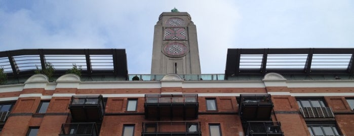 OXO Tower Restaurant, Bar and Brasserie is one of London date places.