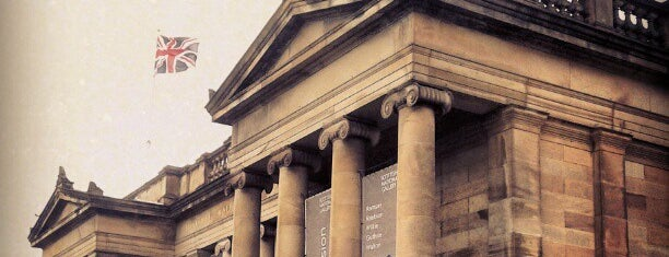 Scottish National Gallery is one of Stevenson's Favorite Art Museums.