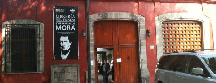 Instituto Mora is one of Ricardo'nun Beğendiği Mekanlar.