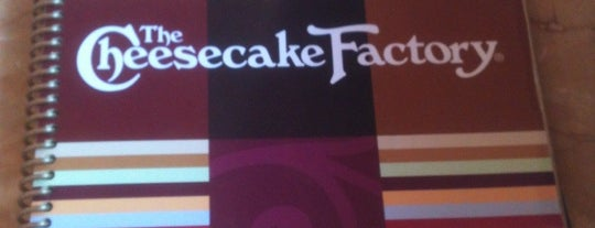The Cheesecake Factory is one of Charlotte To-do List.