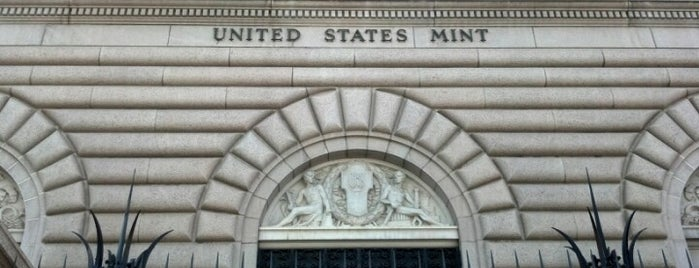 United States Mint is one of July Trip.