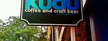Kudu Coffee & Craft Beer is one of Charleston 2016.