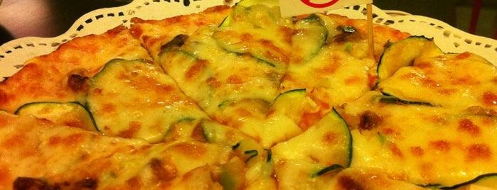 Pizzasana is one of Lugares favoritos de Manuel.