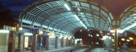 H Albtalbahnhof is one of Bahnhöfe besucht !.