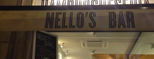 Nello's Bar is one of Hamburguesas de Barcelona.