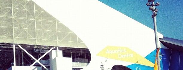 London 2012 Aquatics Centre is one of London, best of.
