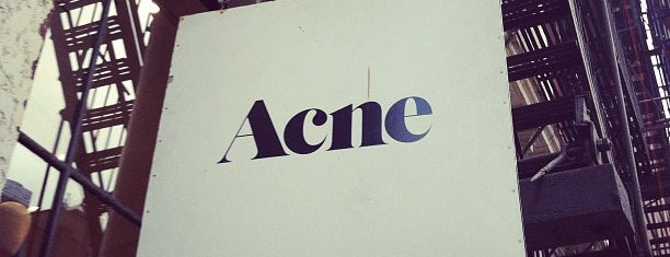 Acne Studios is one of shopping ny.