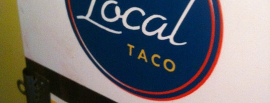 The Local Taco is one of Nashville.